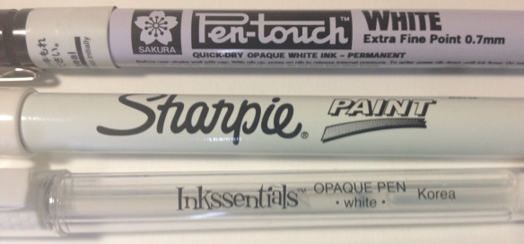 The quest for the perfect white pen.