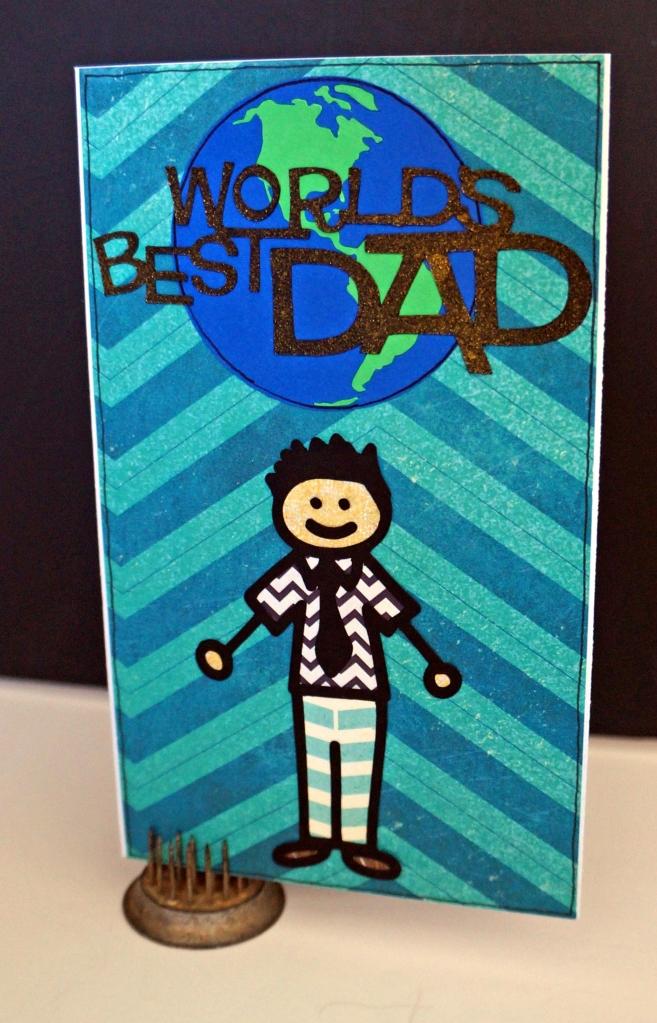 Best Dad Card-TheCraftyPickle.com