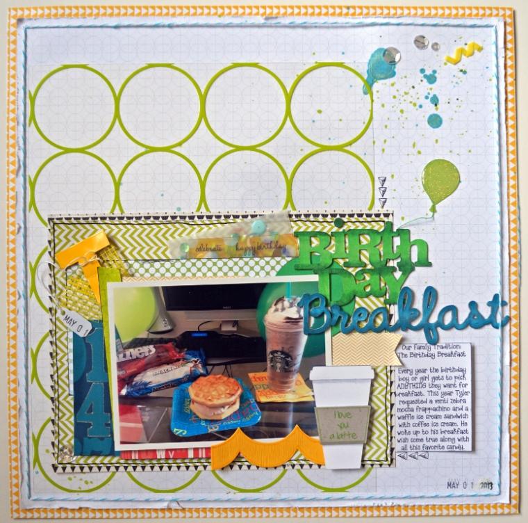 BirthdayBreakfast TheCraftyPickle.com
