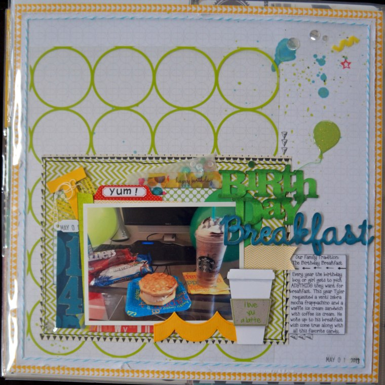 Week 18 Project life @thecraftypickle.com