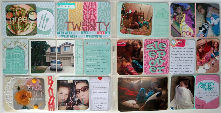 Project Life: Week 20 @thecraftypickle.com