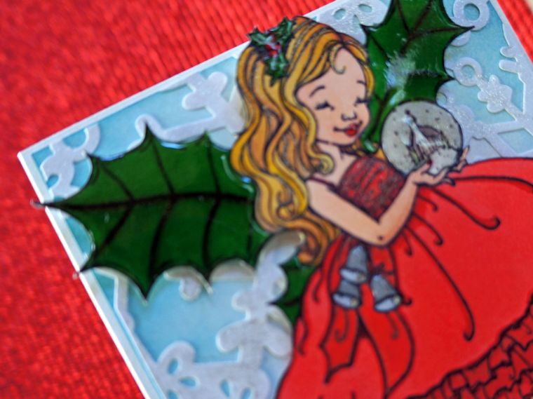 fairy christmas card @thecraftypickle.com