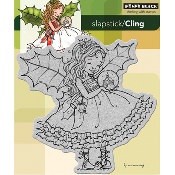Holly Fairy by Penny Black