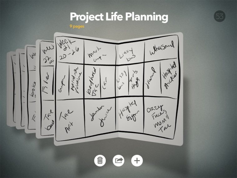 Project Life Planning @thecraftypickle.com