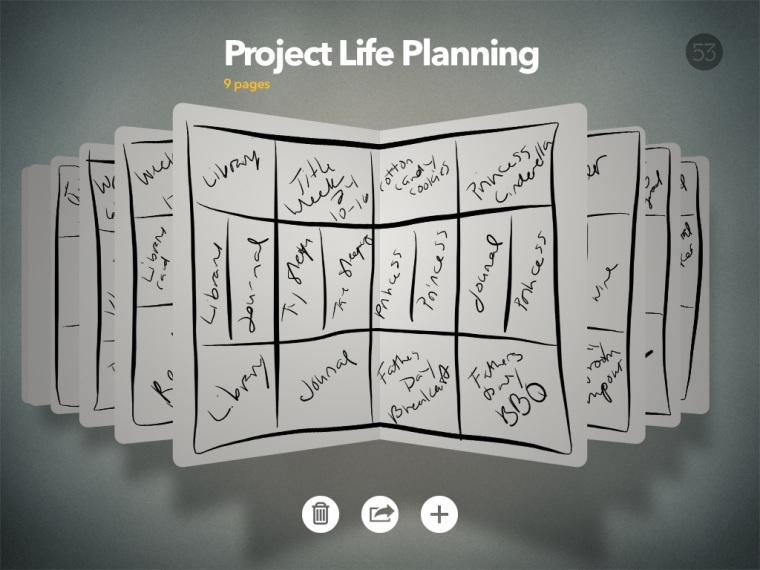Project Life Planning process @thecraftypickle.com