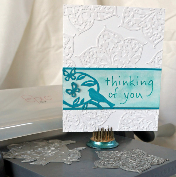 Thinking of you card @thecraftypickle.com