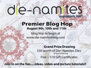 Die-namites Blog Hop