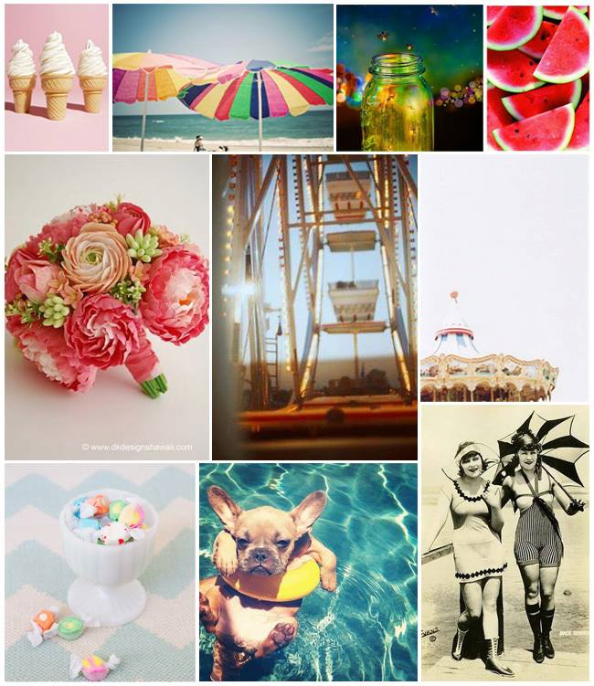 Our inspiration board WhimsicalTwist.com