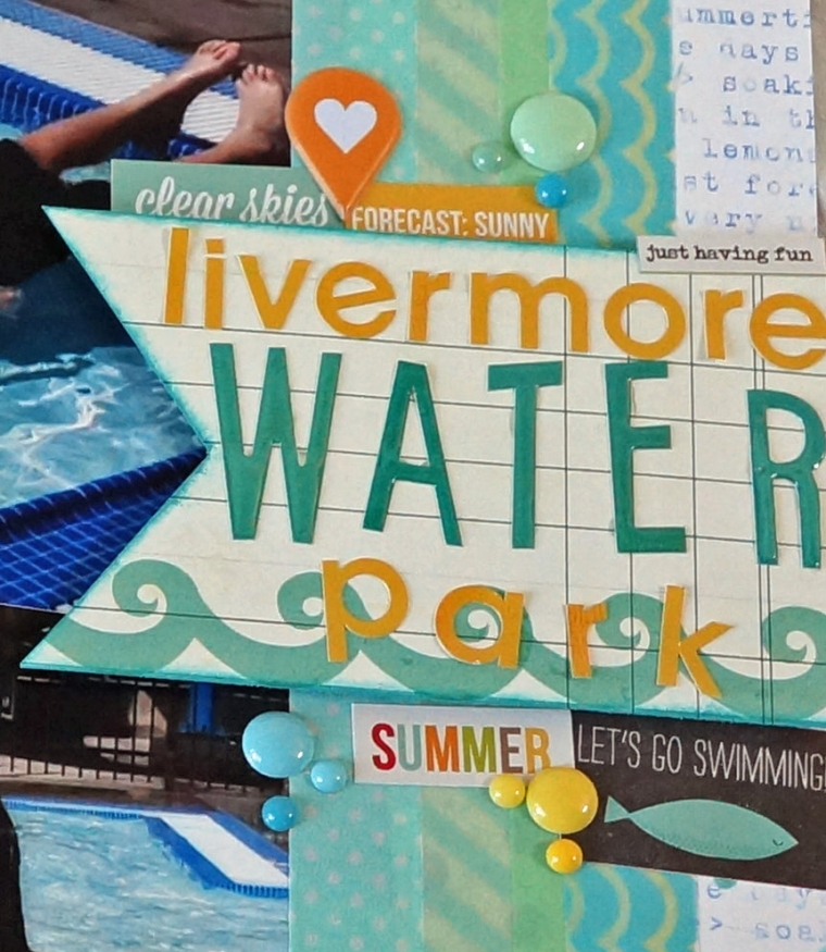 Water Park Layout @TheCraftyPickle.com