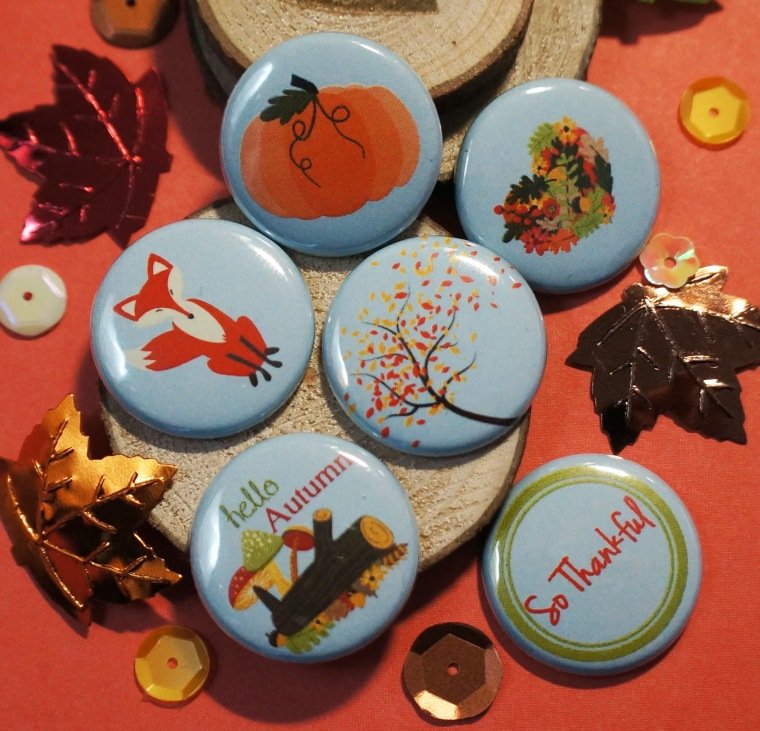 Handmade Autumn Flair from TheCraftyPickle.com