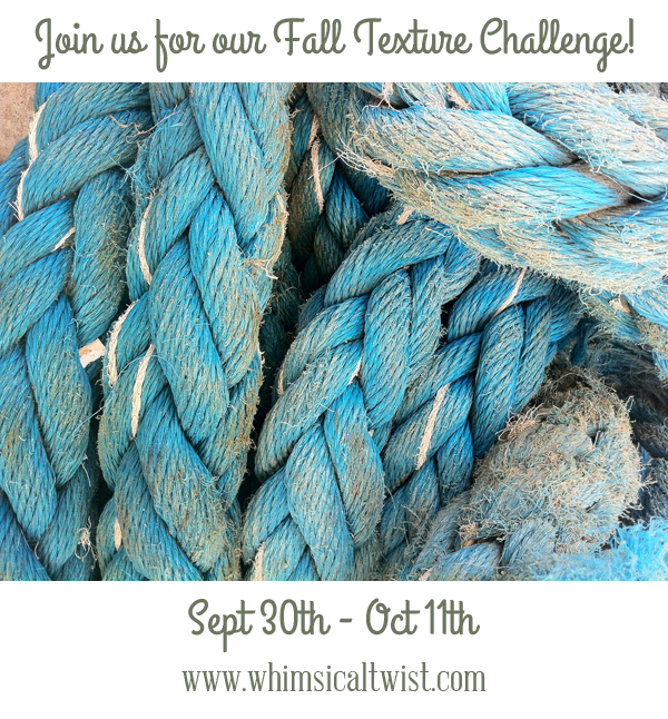 fall texture challenge at Whimsical Twist