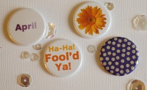 Flair from TheCraftyPickle on etsy  (Blog at www.TheCraftyPickle.com)