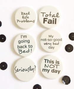 Flatter profile flair buttons for Project Life @TheCraftyPickle.com