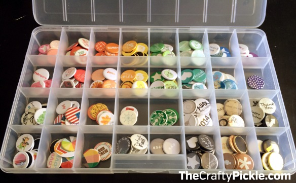 Organize your Flair buttons! More @TheCraftyPickle.com