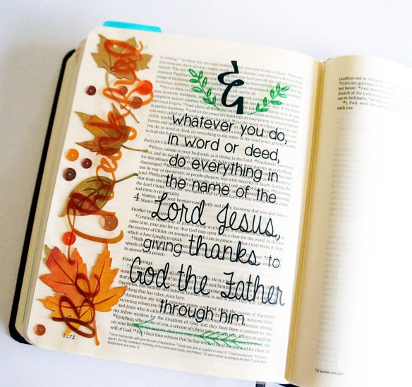 Illustrated Faith: Bible journaling @thecraftypickle.com