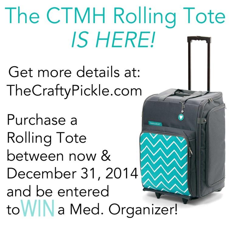 CTMH Tote promo @ Thecraftypickle.com