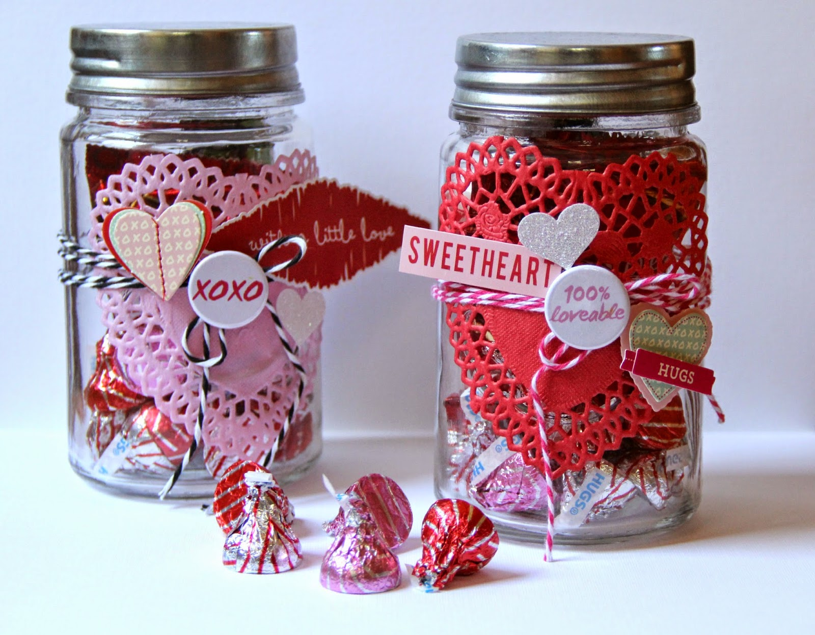 Valentine S Day Mason Jars Taniesa Vlasak The Crafty Pickle