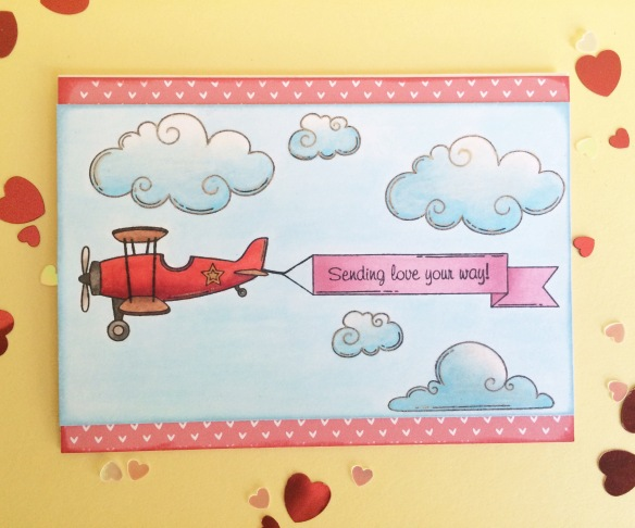CTMH Lifting Spirits card by Taniesa@TheCraftyPickle.com