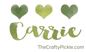 Carrie for ThecraftyPickle.com