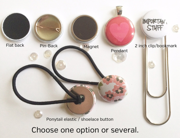 Flair / Button options @thecraftypickle.com