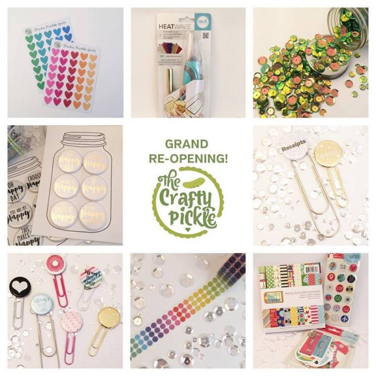 Grand Reopening of TheCraftyPickle.etsycom