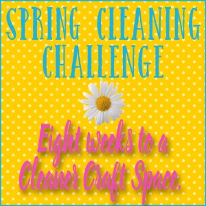 Scrapbook/Craft Organization Facebook Group Spring Cleaning event!