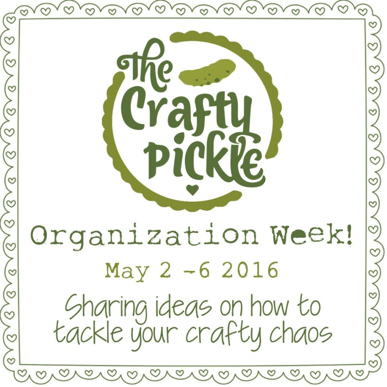 Organization week @ TheCraftyPickle.com
