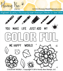 Colormyworld by HoneyBeeStamps.com