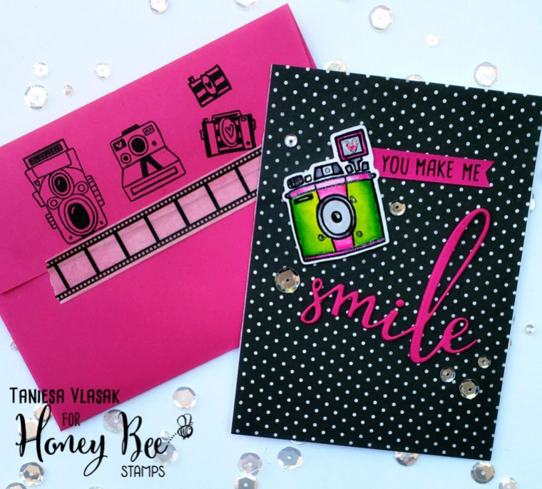 Taniesa Vlasak | Thecraftypickle.com for Honey Bee Stamps