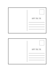 Free postcard printable | TheCraftyPickle.com