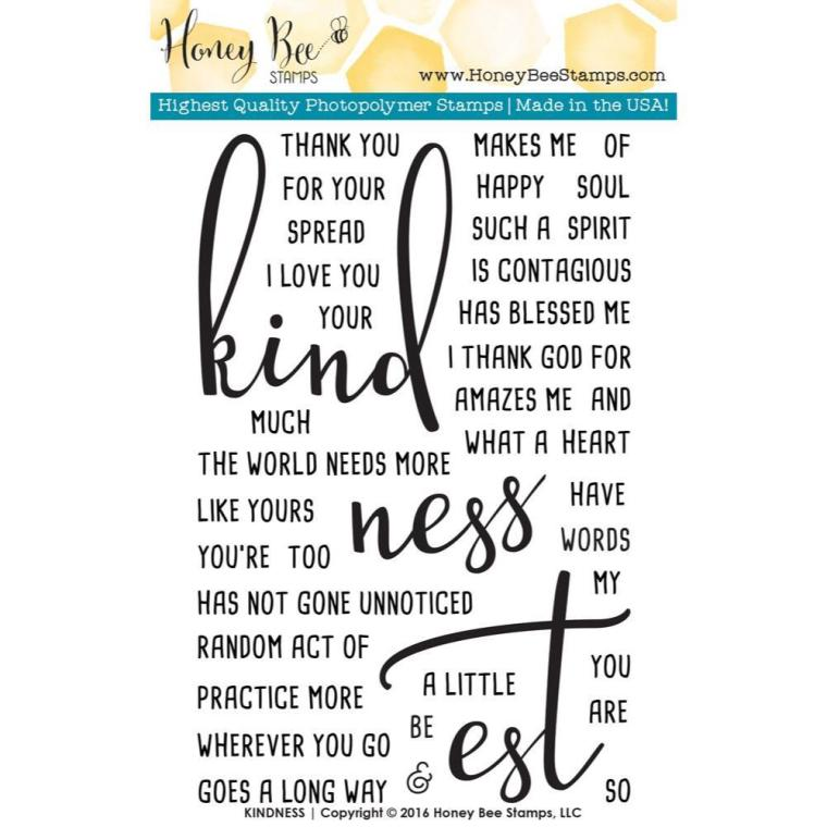 Honey-Bee-Clear-Stamps-Kindness