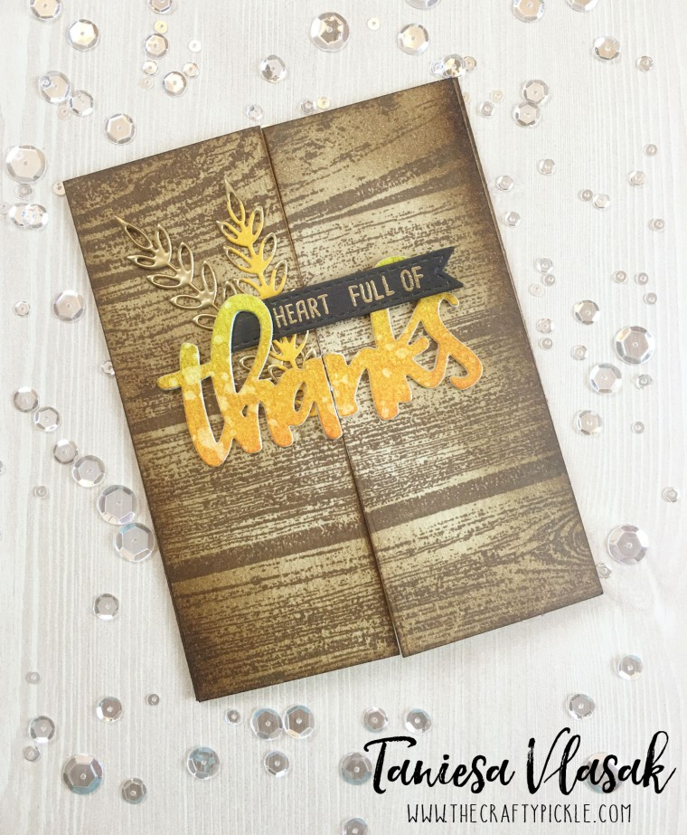 Concord and 9th Heart full of thanks | TheCraftyPickle.com
