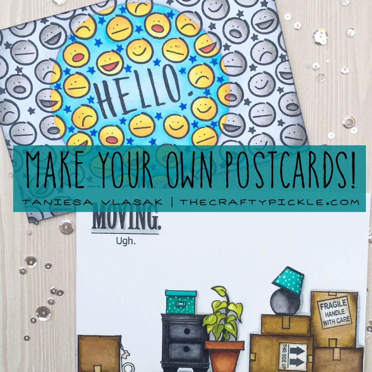 Create your own Handmade Postcards!