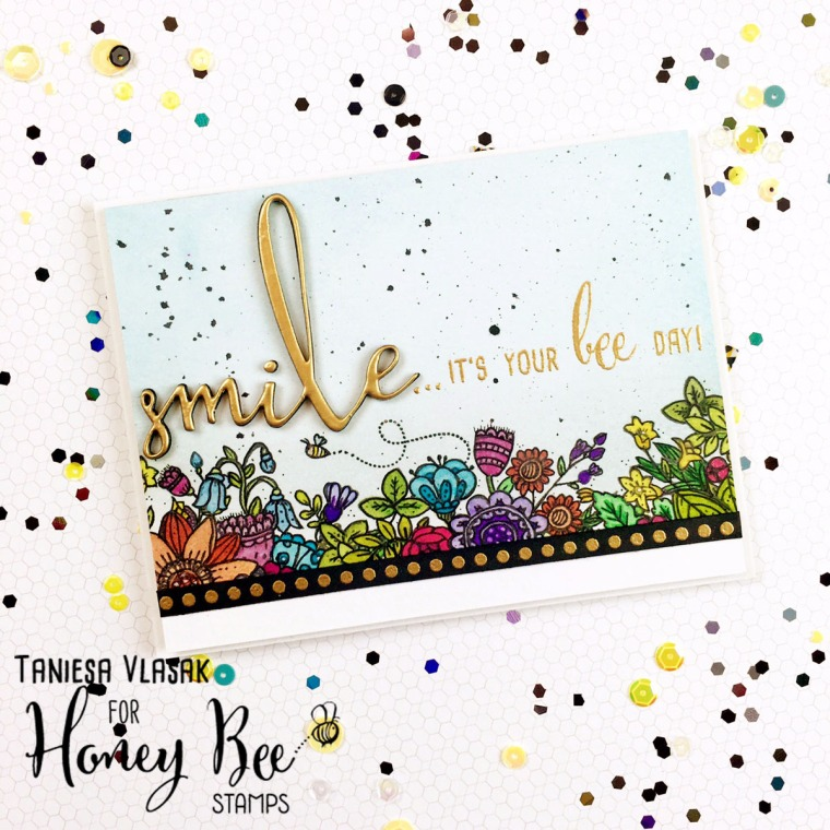 Honey Bee Stamps Aug 2016 release | Taniesa Vlasak