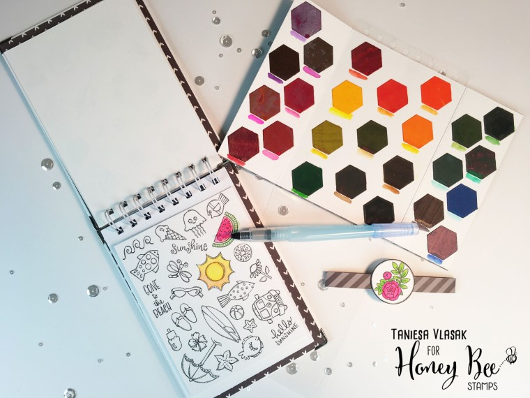 DIY Coloring Book For Cardmakers   Simon Says Stamp STAMPtember ...