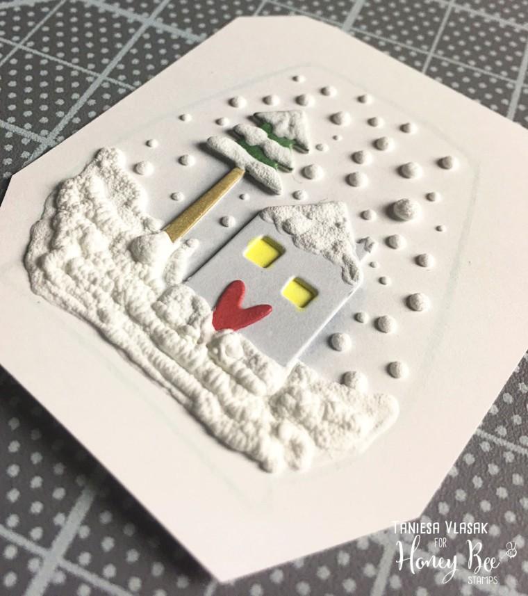 Thanks SNOW much | Taniesa Vlasak for Honey Bee Stamps