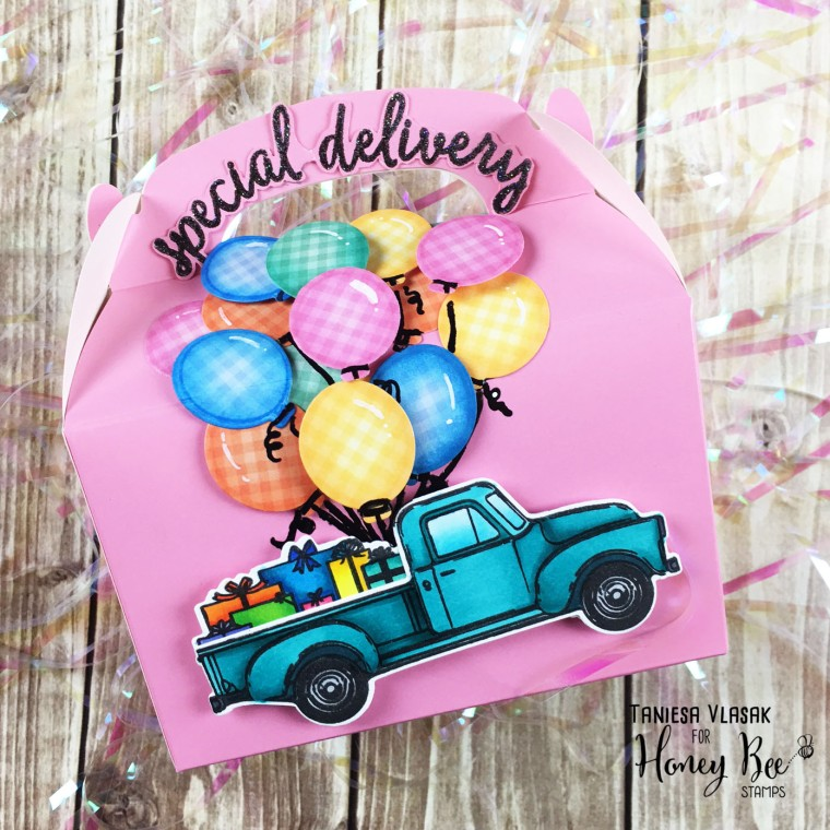 Dressing up your gift packaging | Taniesa Vlasak for Honey Bee Stamps