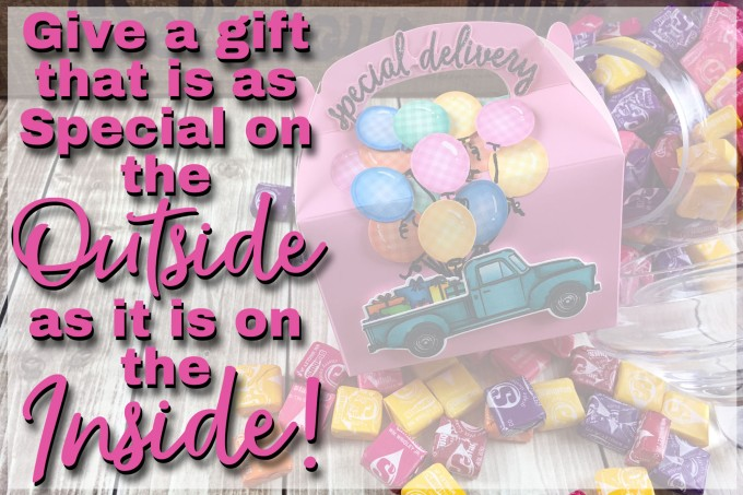 Shouldn't your gift be as awesome on the outside as the inside. Grab your favorite supplies and a gift bag or box and create something amazing! www.thecraftypickle.com