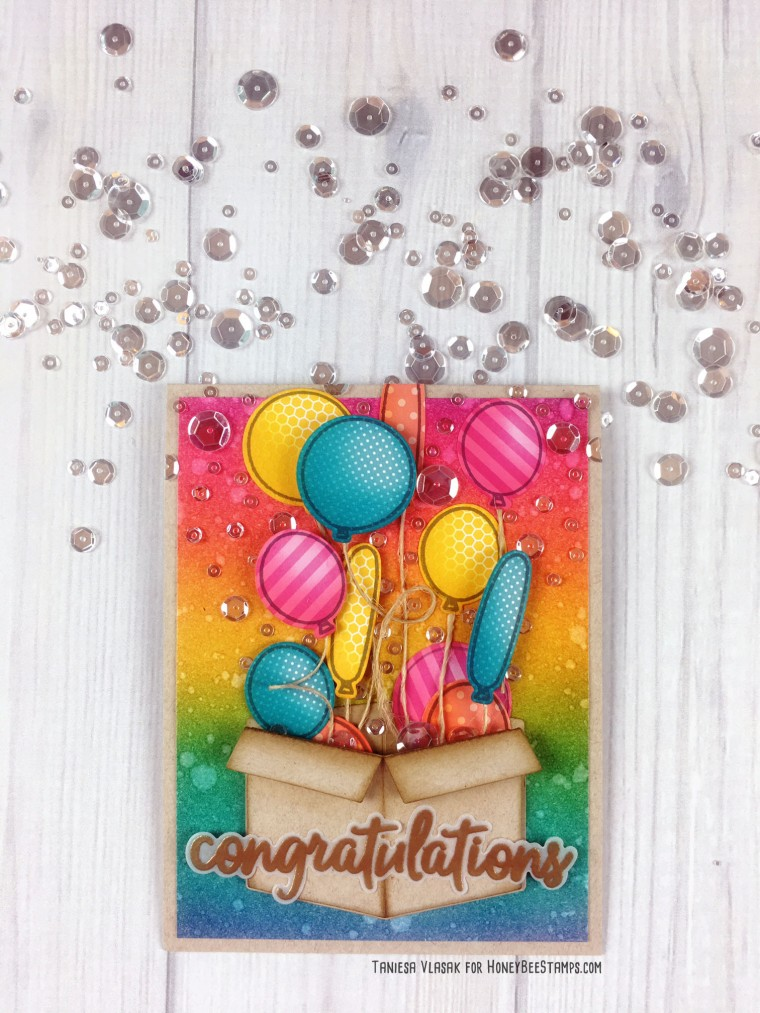 Congratulations | Taniesa Vlasak for Honey Bee Stamps