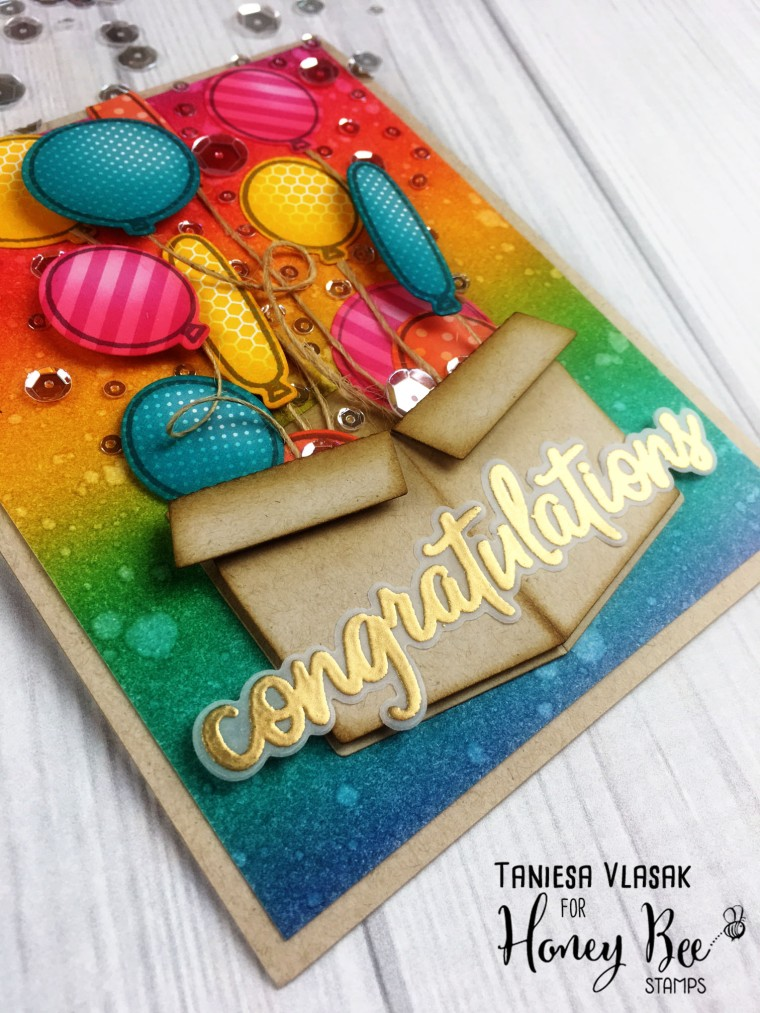 Congratulations | Taniesa Vlasak for Honey Bee Stamps
