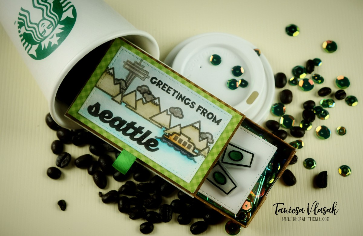 Greetings from Seattle! Creative Coffee Gift for the Coffee Lover's Blog Hop