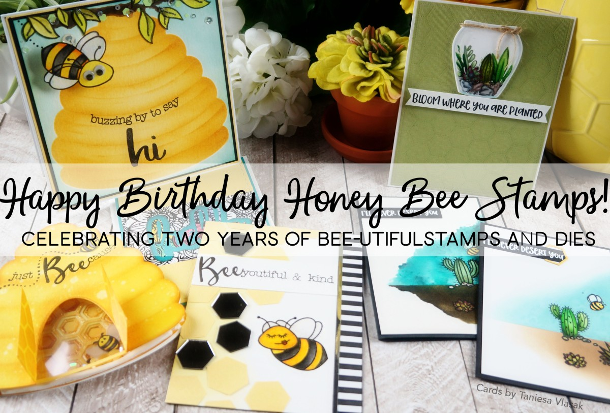 Surprise 2nd BEE-day Blog hop (and a swarm of awesome new releases!)