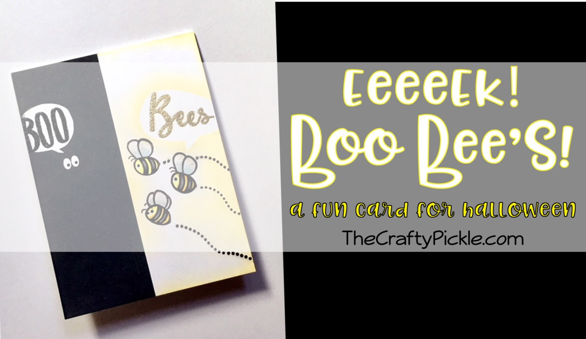 Boo Bees Card!