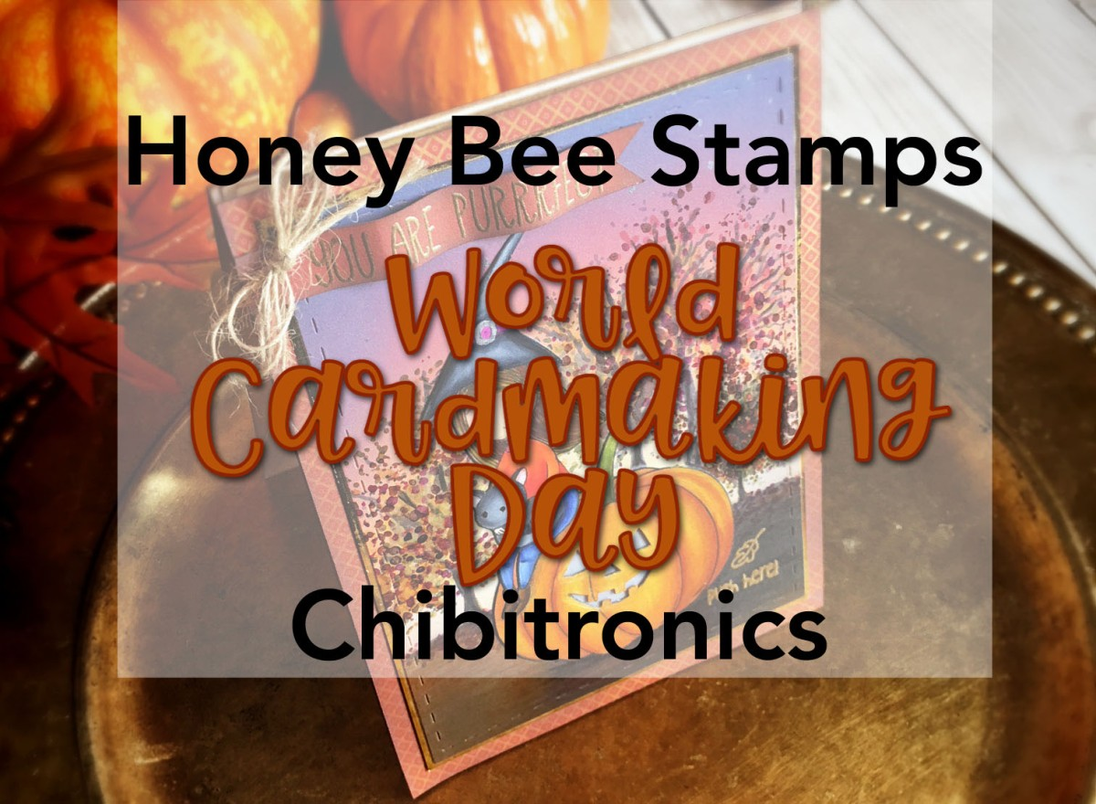 A *BRIGHT* idea using Honey Bee Stamps! World Cardmaking Day Blog Hop